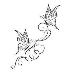 tattoos butterfly small / tattoos butterfly - tattoos butterfly small - tattoos butterfly flower - tattoos butterfly old school - tattoos butterfly simple - tattoos butterfly watercolor Tribal Butterfly Tattoo, Butterfly Drawing, Butterfly Tattoo Designs, Small Tattoo Designs, Papillon Butterfly, Small Flower Tattoos, Small Tattoos, Body Art Tattoos, Tattoo Drawings