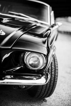 67 Mustang by Rémi Dargegen #mustangclassiccars