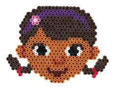 Dottie - Disney Doc McStuffins Gift Set Hama Beads 7956 Plastic Bead Crafts, Plastic Beads, Hama Beads Patterns, Beading Patterns, Cartoon Network, Pony Bead Projects, Diy And Crafts, Crafts For Kids, Peler Beads