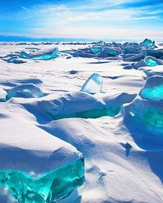 Siberia's Lake Baikal. Gonna be there in a year!