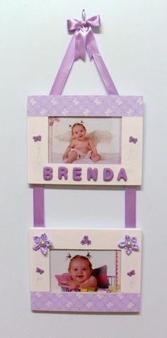 Quadro porta retrato personalizado Frame Crafts, Diy Frame, Diy And Crafts, Crafts For Kids, Arts And Crafts, Paper Crafts, Diy Photo Frame Cardboard, Homemade Gifts, Diy Gifts