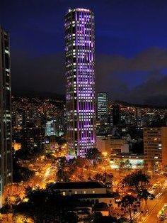 Colpatria Tower. Bogota, Colombia
