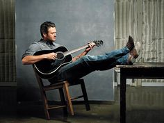 BLAKE SHELTON - 2012 has been a banner year for the country singer: He's the breakout star of The Voice, the Academy of Country Music's reigning male vocalist of the year, and just earlier this month, he nabbed three CMA Awards, even sharing an emotional win with his wife of 18 months.