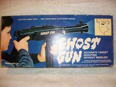 Vintage 1970s Ghost Gun Hasbro Toy Gun #5488 with nice Box - Working!!! #Hasbro