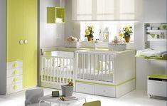 chambre bébés jumeaux