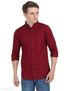 Checkout this latest Shirts Product Name: *Carbonn Cloth Men Full Sleeve Cotton Shirts* Fabric: Cotton Sleeve Length: Long Sleeves Pattern: Solid Multipack: 1 Sizes: S Easy Returns Available In Case Of Any Issue   Catalog Rating: ★4 (444)  Catalog Name: Comfy Fashionable Men Shirts CatalogID_1261914 C70-SC1206 Code: 574-7743906-7911