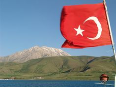 Facts About Turkey Country:  Lake Van, in eastern Turkey - the biggest lake in Turkey