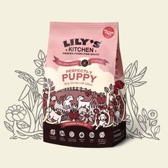 Puppies deserve the healthiest start in life.... So we've made the absolute best, totally ultimate puppy food on earth. Our food is uniquely with fresh meat - really tasty, gentle on the tummy and easy to digest.
