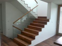 Steel Stairs Design, Glass Railing, Home Decor, Decoration Home, Room Decor, Home Interior Design, Home Decoration, Interior Design