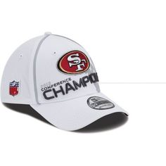Youth New Era San Francisco 49ers 2012 NFC Conference Champions Trophy Collection 39THIRTY? Structured Flex Hat Youth by New Era. $17.97. NFL? structured flex hat. Flexible construction offers a comfy, effortless fitOfficially licensed. Made in China. Decorated with championship and team graphics. Your budding all-star can show off his big pigskin pride in this youth New Era? NFL? 2012 NFC? Conference Champions 39THIRTY? structured flex hat. It's loaded with plenty of spirit and...