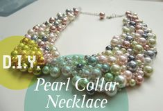 DIY Pearl Collar Necklace - Kaezel Sangil's Creative Journal