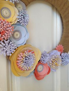 Upcoming class: Burlap and Blooms Simply Created Wreath...