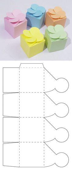 Caja para dulces y candybar
