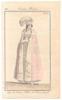 A full length regency pelisse. I adore it! (1815)