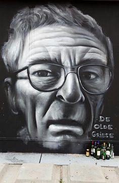 #streetart #graffiti #Groningen #Grunn #portret