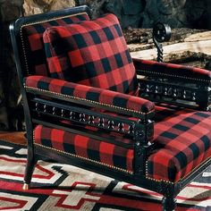 Image result for rooms decorated in tartan plaid