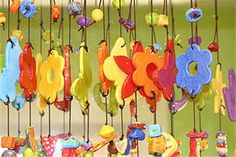 Good simple project.Inspiring story behind this,one guarantied to tug at your heart strings ,unless you are heartless! ;-) (JK) clay wind chimes!