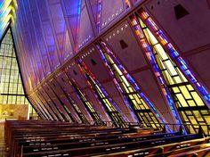 Cadet Chapel, by Walter A. Netsch / Colorado