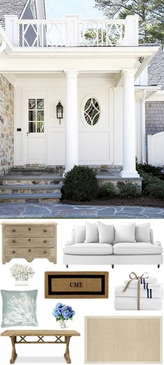 CHIC COASTAL LIVING: Beach House: Get The Look @Serena &  Lily @Williams-Sonoma Inc. Designer Marketplace @Williams-Sonoma Home @Pottery Barn @mark and graham