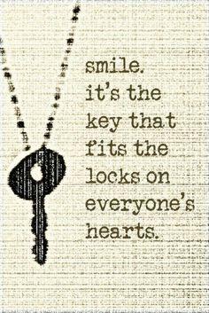 Cute Smile Quotes | Smile quote