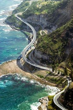 California. Pacific Highway. One day...
