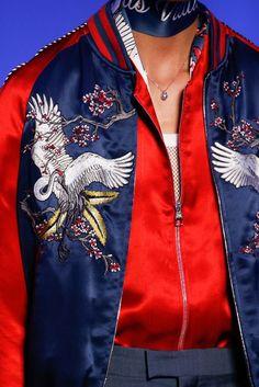 Louis Vuitton Fashion show details