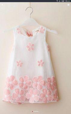 Organza dress front