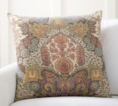 Angelina Paisley Print Pillow Cover #potterybarn