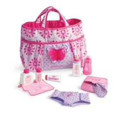 American Girl Bitty Baby - Mommy's Diaper Bag Essentials for Dolls - Bitty Baby 2015