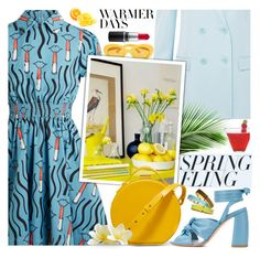"""""""Warmer Days Ahead: Spring Dresses !"""" by euafyl ❤ liked on Polyvore featuring Valentino, Anna F., TIBI, Pantone, MAC Cosmetics, Nico Giani and springdresses"""