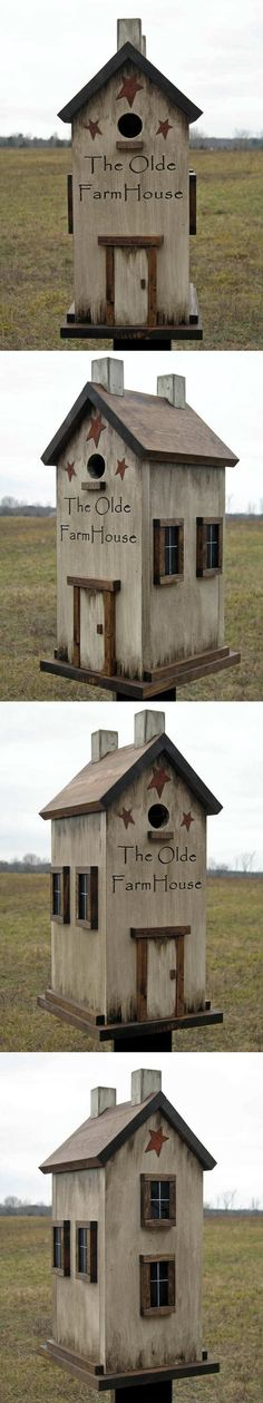 the old farm house~ I am not sure who to give credit to for this wonderful bird house