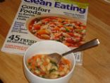 Clean Eating Minestrone Soup (with Quinoa) Recipe by JUS911 via @SparkPeople