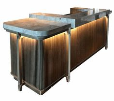 Glamorous bar counter design