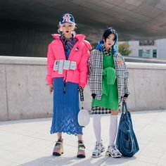 Cr: cheristyle_ and naras. Seoul Fashion, Tokyo Fashion, Bold Fashion, Harajuku Fashion, Colorful Fashion, Korean Fashion, Runway Fashion, India Fashion, Indie Outfits