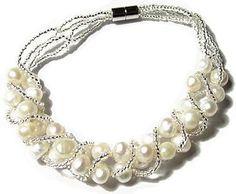 Natural Freshwater Cultured Pearl Bracelet