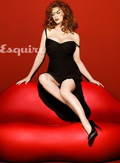 """Christina Hendricks' advice to men;  """"we remember everything and we remember forever"""".  Good to know...."""