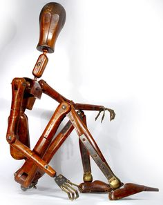 1800's Life-Size Articulated Artist's Mannequin http://www.1stdibs.com/furniture/more-furniture-collectibles/industrial-furniture/