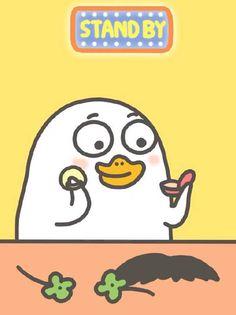 微博 Stupid Pictures, Cute Pictures, Bird Meme, Duck Cartoon, Funny Duck, Little Duck, We Bare Bears, Kawaii Art, Cartoon Wallpaper