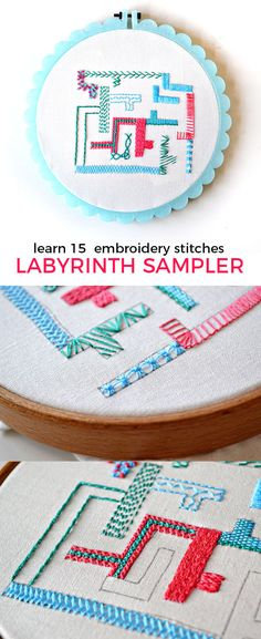 the perfect start for a beginner embroiderer