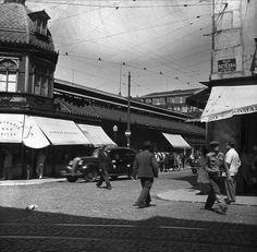 Mercado da Praça da Figueira, Lisboa, Portugal    Fotografia sem data. Produzida durante a actividade do Estúdio Mário Novais: 1933-1983.