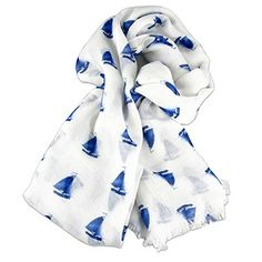 From our Museum Store: Indigo Sailboats Wrap