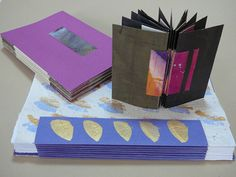 Making Handmade Books: Instructions: A Book Structure from Australia This is the tutorial on how to make that accordian spine or the piano hinge spine. I love it.