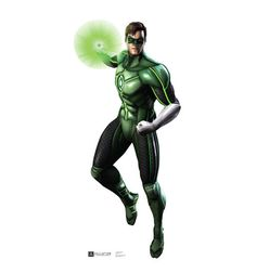 "Opentip.com: Advanced Graphics 1679 Green Lantern - Injustice DC Comics Game - 72"" x 34"" - Cardboard Standup - 72"" x 34"" Cardboard Standup"
