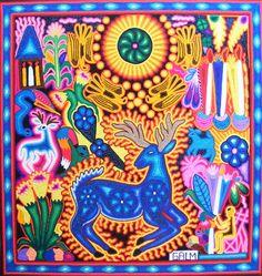 Marcos García López - Huichol art