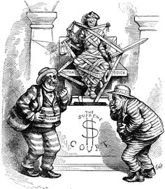 thomas nast political cartoons | Tweed Mocks Supreme Court | ClipArt ETC