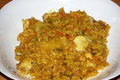 Curry - Risotto mit Huhn (Rezept mit Bild) von lieschen111 | Chefkoch.de
