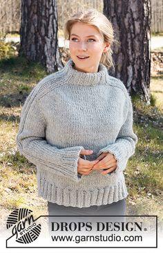Outback / DROPS 217-23 - Ilmaiset neuleohje DROPS Designilta Drops Design, Crochet Diagram, Free Crochet, Knit Crochet, Knitting Patterns Free, Free Knitting, Crochet Patterns, Knitting Books, Free Pattern