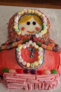 create: A Babushka Birthday Cake