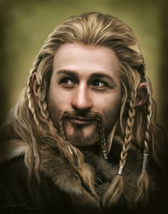 Fili the Prankish by Aegileif on DeviantArholy. Holy crap, how do people do this??