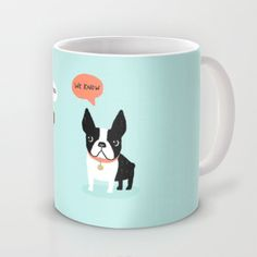 Dog Fart Mug by Anne Was Here - $15.00